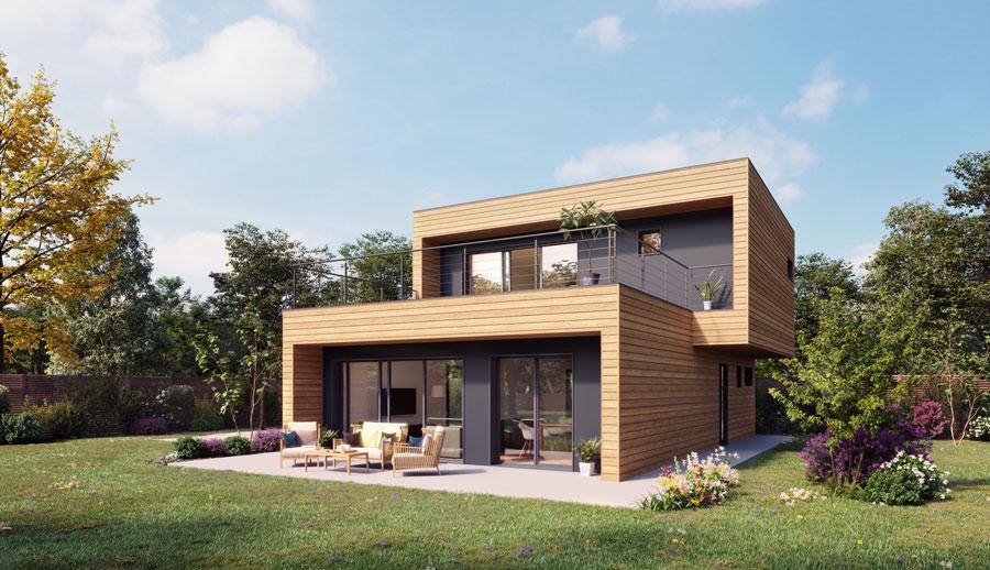 terrain + maison booa en Isère